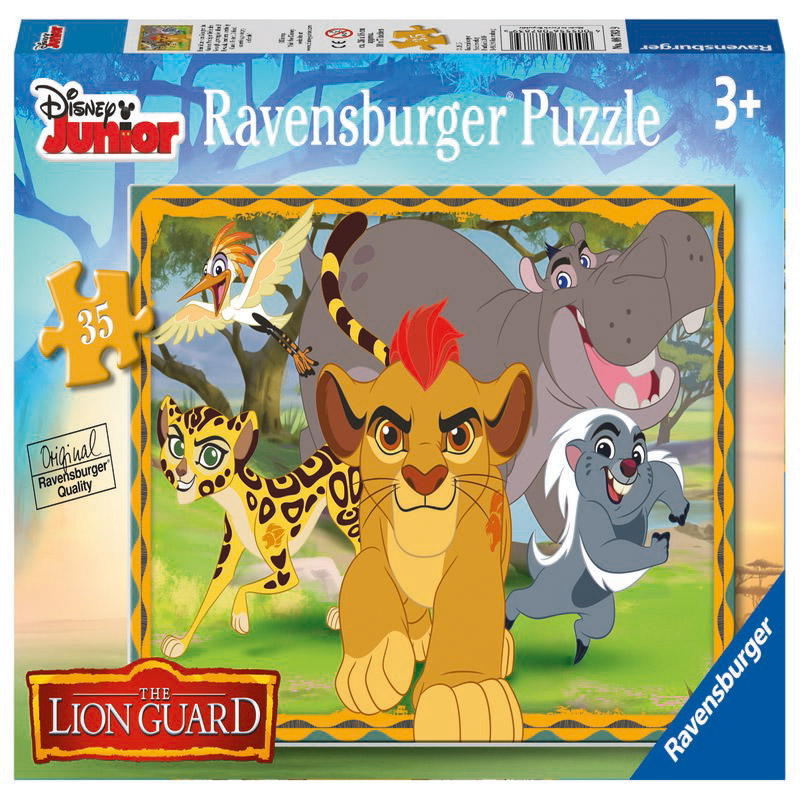 Puzzle Garda felina 35...