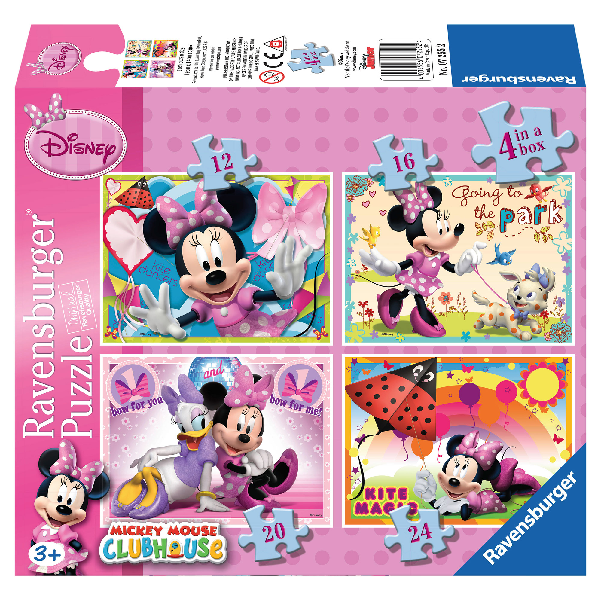 Puzzle Minnie Mouse 12...