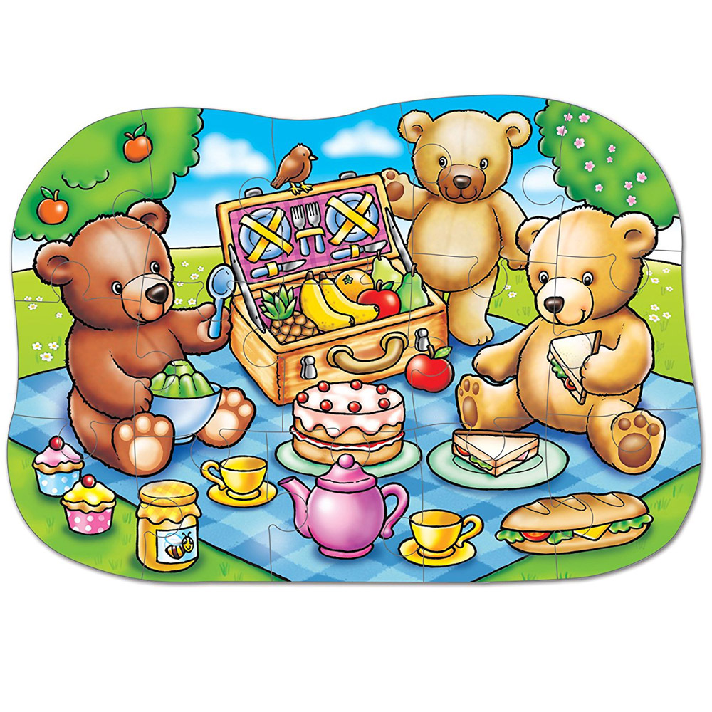 Puzzle Teddy Bears Pic...