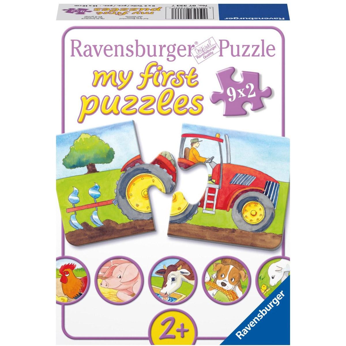 Puzzle Animale de la f...