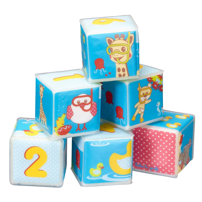 Set cuburi baie girafa...
