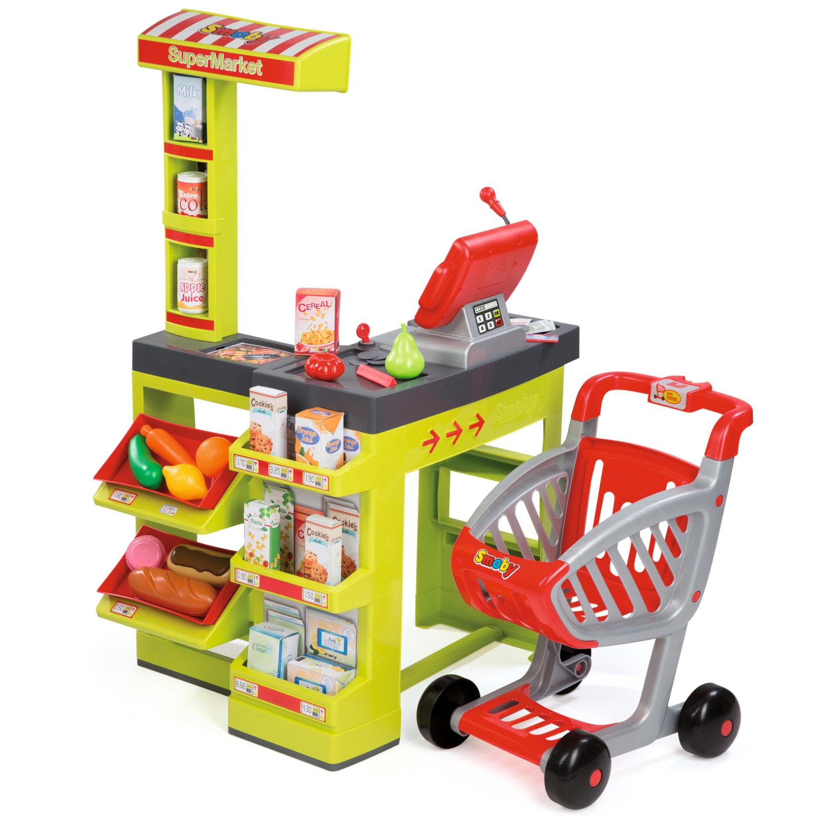 Supermarket electronic...