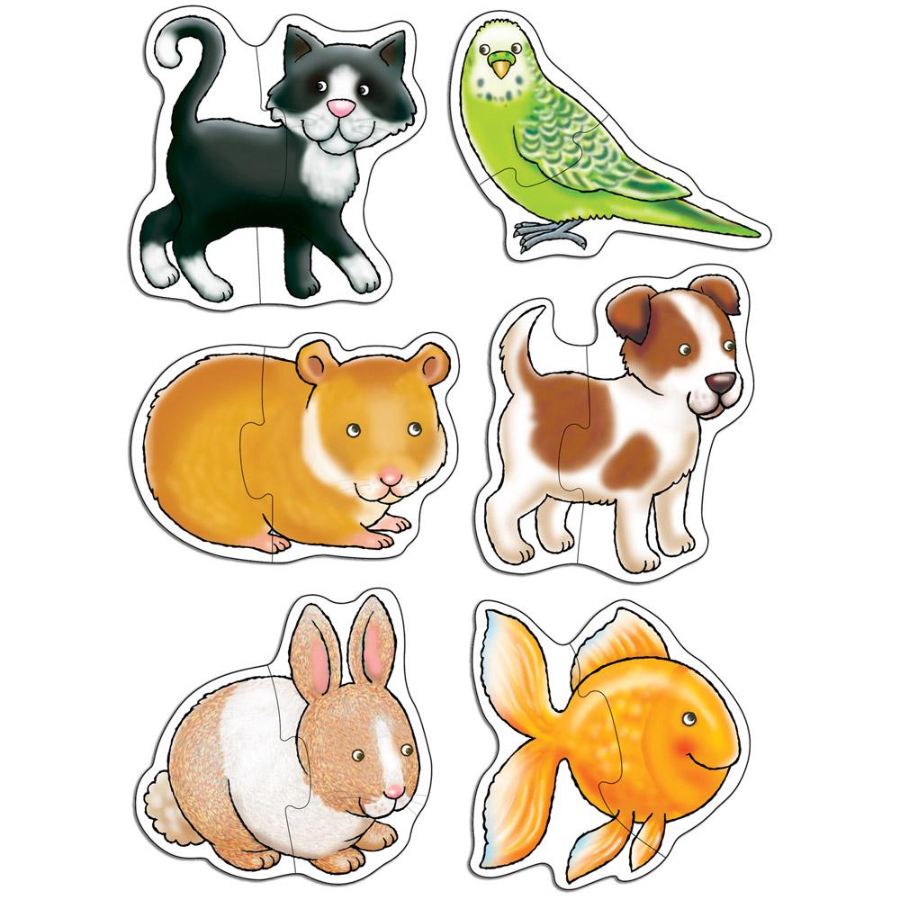 Set 6 puzzle-uri Pets ...