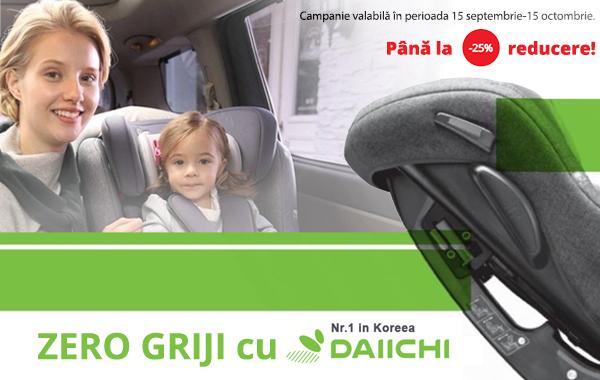 Scaune auto copii Daiichi