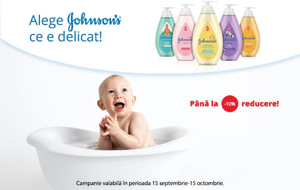 Produse de ingrijire Johnson's