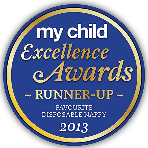 2013 FAVOURITE DISPOSABLE NAPPY RUNNER-UP