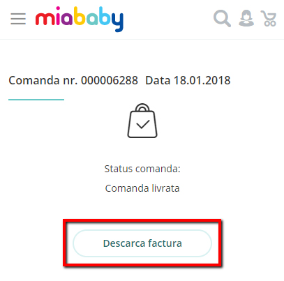factura miababy